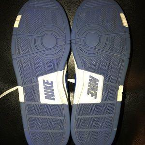 Nike Shoes - White & blue Nike